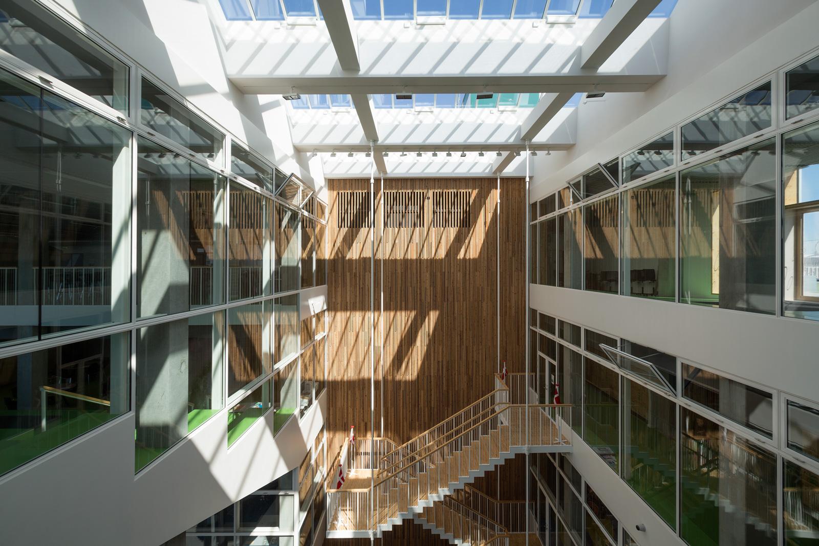 Skolen I Sydhavnen Atrium