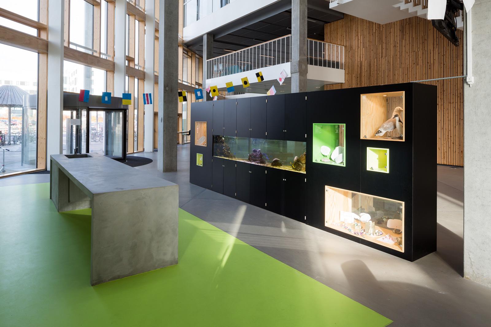 Skolen I Sydhavnen Inventar